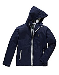 Luke Sport Raleigh Navy Hooded Jacket