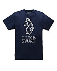 Luke Sport Lion Navy T-Shirt Long