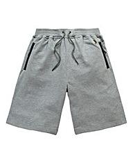 Luke Sport Silver Grey Marl Jog Shorts