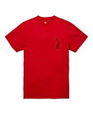 Luke Sport Victory Marina Red T-Shirt Lo