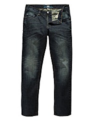 UNION BLUES Laser Tapered Jeans 33in