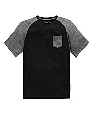 Label J Raglan Sleeve T-Shirt Regular