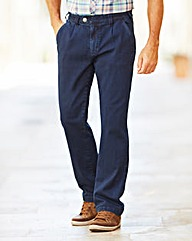 Premier Man Elasticated Straight Jean 29