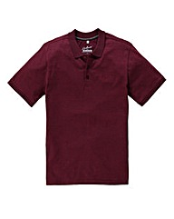 Jacamo Fleck Polo Shirt Long Length