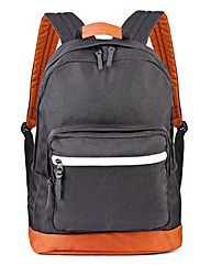 Label J Canvas Rucksack