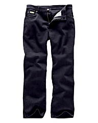 Wrangler Texas Stretch Black Jeans 30In