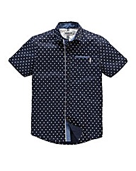 Mish Mash Supreme Navy Print Shirt Long