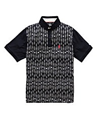 Lambretta Nova Printed Polo Long