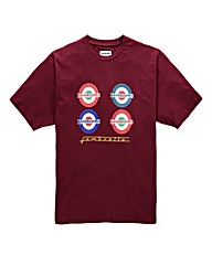 Lambretta Bus Stop T-Shirt Long