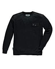 Voi Finlay Black Crew Knit