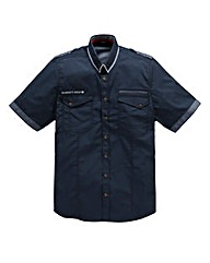 Hamnett Gold Hape Navy Shirt Regular