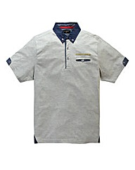 Hamnett Gold Hayes Grey Polo Regular