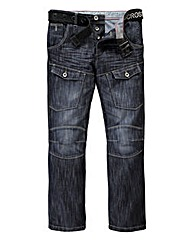 Crosshatch Control DW Cargo Jean 29In