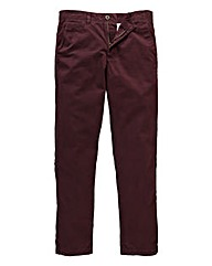 Jacamo Wine Tapered Chino 33in