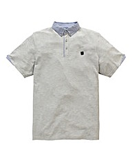 Voi Dillen Grey Marl Polo Long