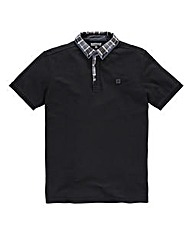 Voi Mercer Black Polo Regular
