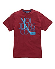 Voi Acker Wine T-Shirt Regular