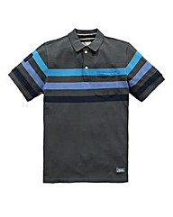 Jacamo Akron Stripe Polo Regular