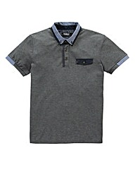 Voi Clones Charcoal Polo Long