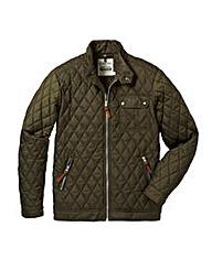 Jacamo Khaki Vancouver Quilted Jacket L