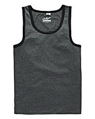Jacamo Charcoal Callahan Vest Top