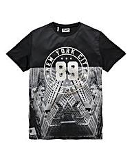 Label J NYC 89 Mirror T-Shirt Long