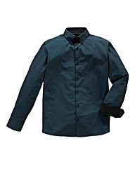 Black Label By Jacamo Dundee Teal Shrt L