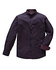 Black Label By Jacamo Comrie L/S Shirt L