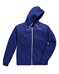 Jacamo Royal Blue Full Zip Hoodie Long