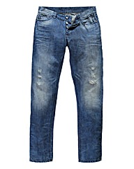 UNION BLUES Action Loose Fit Jeans 33in