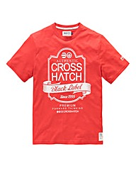 Crosshatch Luxout Red T-Shirt
