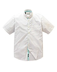 Jacamo White Hamlet Summer Shirt Regular