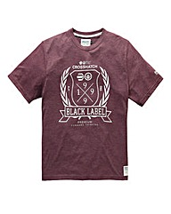 Crosshatch Snowgo Port T-Shirt
