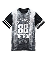 Label J Detroit 88 T-Shirt Long