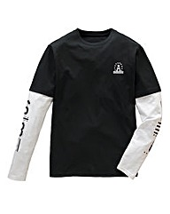 Label J NYC Layered L/S T-shirt Regular