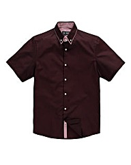 Black Label By Jacamo Arran Red Shirt R