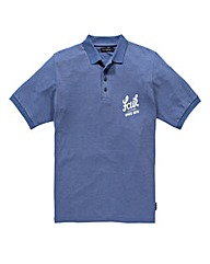French Connection Signature Blue Polo