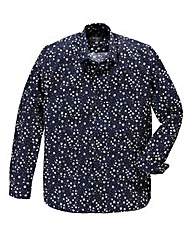 Peter Werth Floral Navy Print Shirt Reg