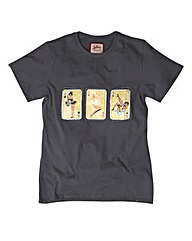Joe Browns Play Your Cards Right Tee L