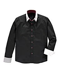 Black Label By Jacamo Harry L/S Shirt L
