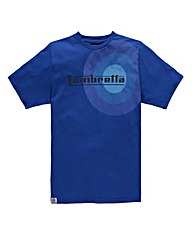 Lambretta Target Royal T-Shirt Long