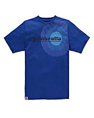 Lambretta Target Royal T-Shirt Reg