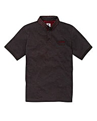 Lambretta Kive Charcoal Polo Long