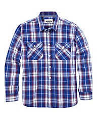 Jacamo Perry Long Sleeve Check Shirt R