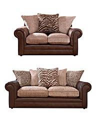 Tribecca 3 plus 2 Seater Sofa