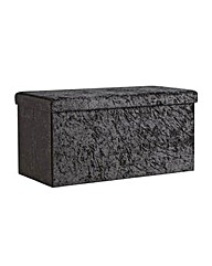 Collection Ashridge Large Velvet Ottoman