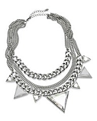Mixed Chain Statement Necklace