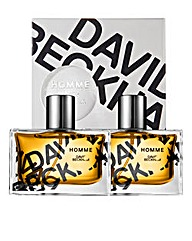 David Beckham Homme 50ml EDT BOGOF