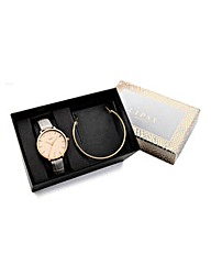 Lipsy Watch and Bracelet Set