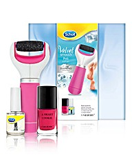 Scholl Velvet Smooth Pedi Gift Set
